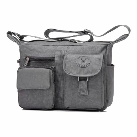 Fabuxry Causal Canvas Messenger Bag for Women
